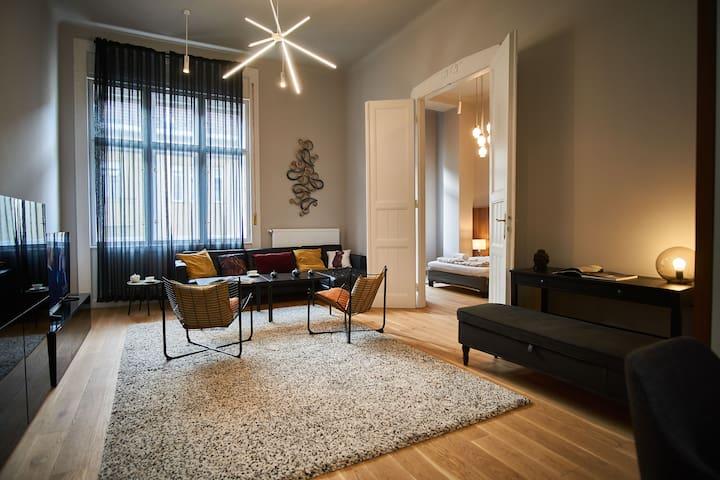 design apartment | király str | downtown | 4 bds