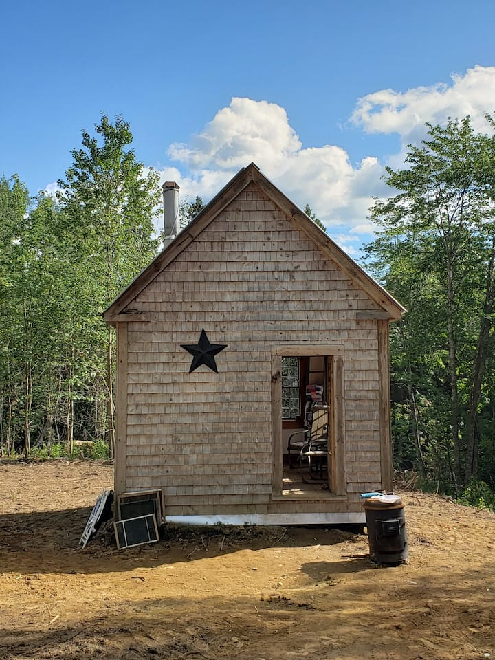 Step back in time  with a cute rustic camp