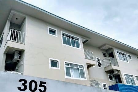 Apartamento para três pessoas no continente