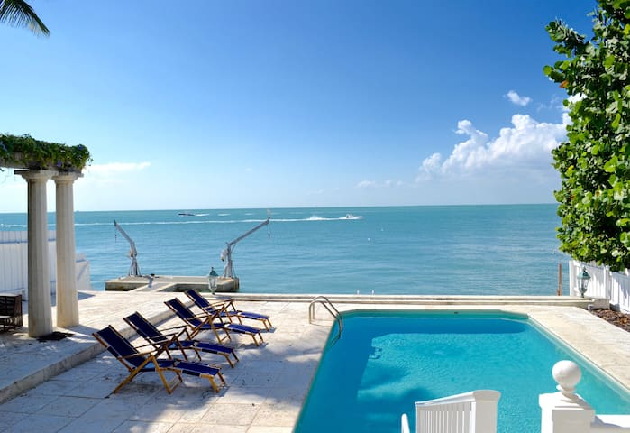 Amazing  waterfront in Key Biscayne