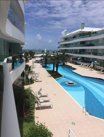 Apartamento con saida a la Praia da Canasvieiras