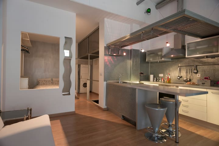 Nice loft near the center of Madrid - Madrid - Loft-asunto