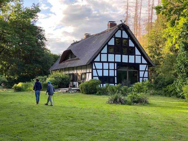Fachwerkhaus (Haushälfte) im Wendland