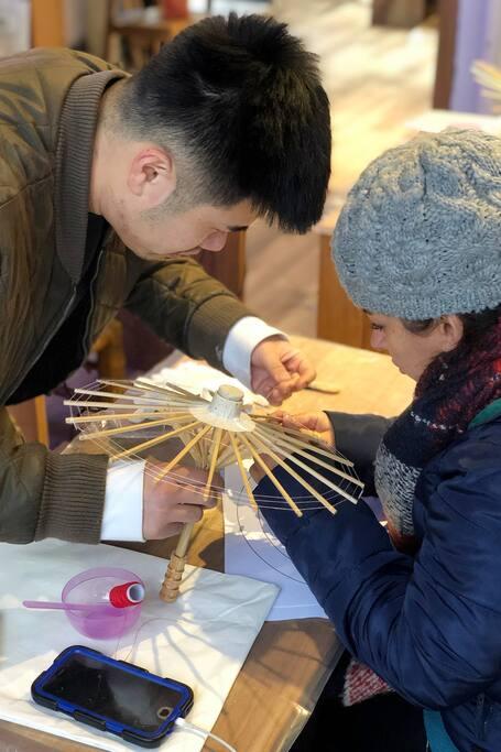 Chinese Oil-paper Umbrella Master