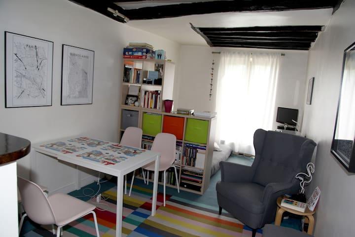 Studio 28m2 In Montmartre