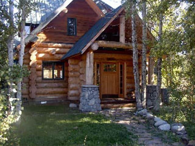 Hyatt Lake log cabin