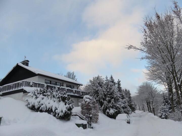Winterberg vakantiehuis met uitzicht