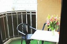 Balcony - quiet and cozy