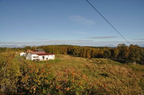 Koselig hus nært Tranøy, Hamarøy. 7 sengeplasser.