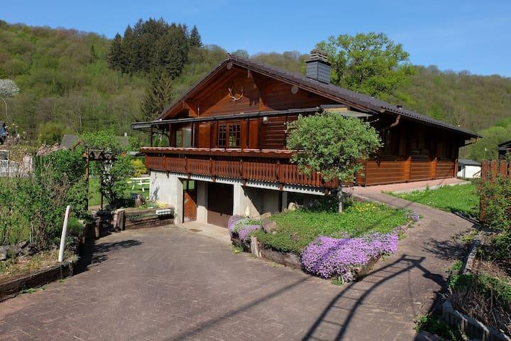 Vintage Chalet in Sougné-Remouchamps near Ardennes Forest