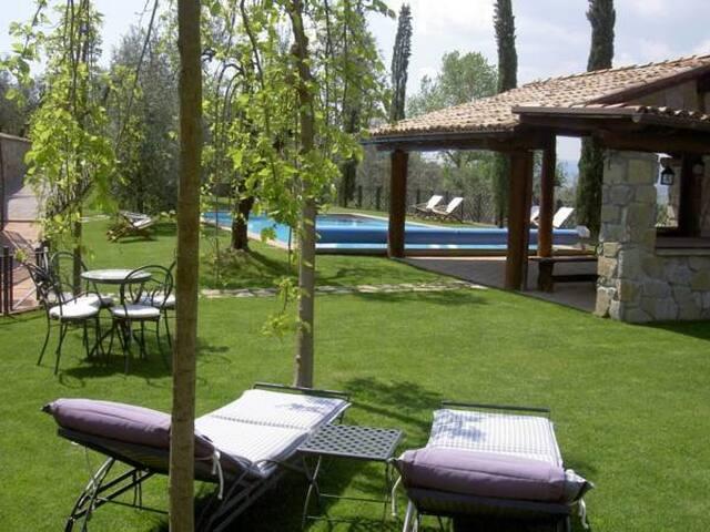 Superior suite con camino e vasca idromassaggio - Monteleone D'orvieto - Pis