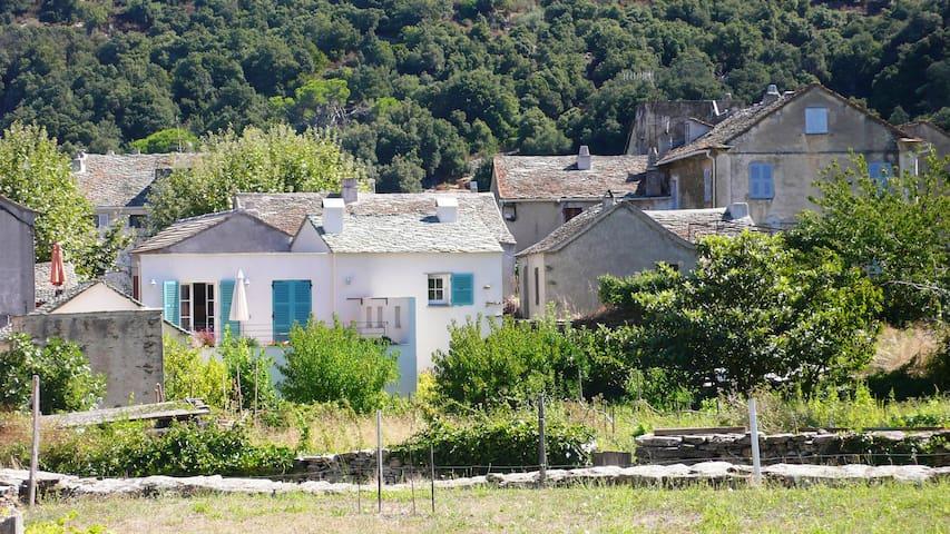 Une maison du Cap corse, entre mer et montagne - Canari - บ้าน