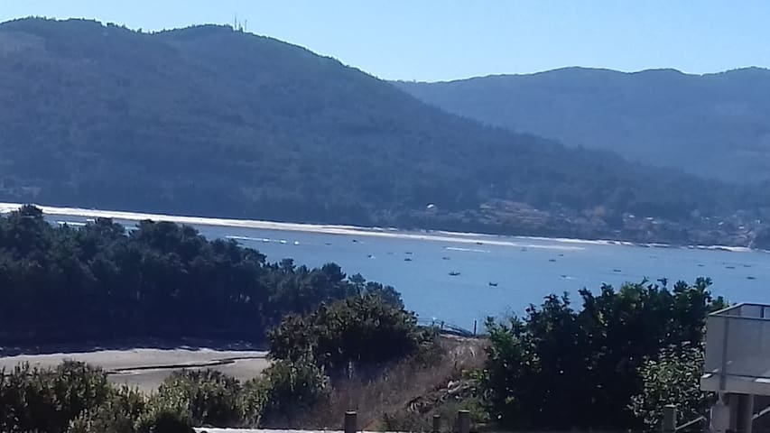Classic Galician Stone Farmhouse with Sea Views plus Converted Barn attached