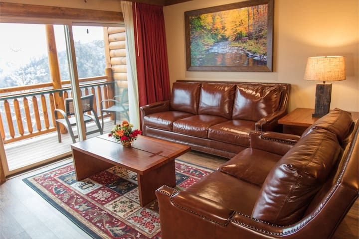 Gatlinburg Villa W/ King size bedroom & Jacuzzi