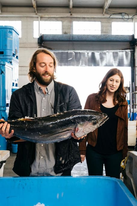 Visit Pier 45 with a local fishmonger