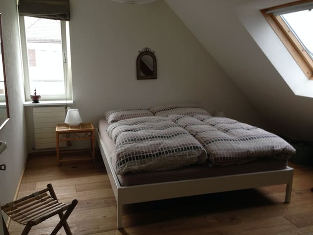 Cosy room near Baselworld, free parking
