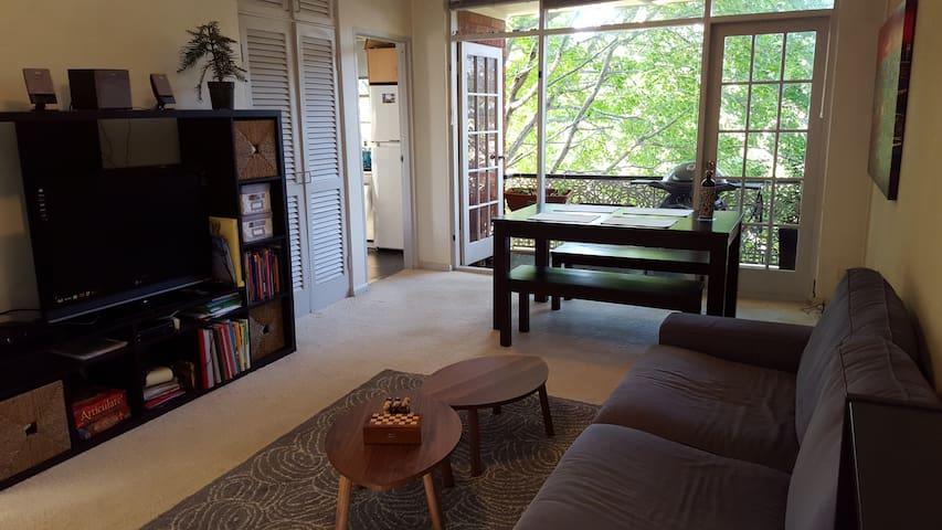 Leafy Wollstonecraft flat - Wollstonecraft - Apartamento