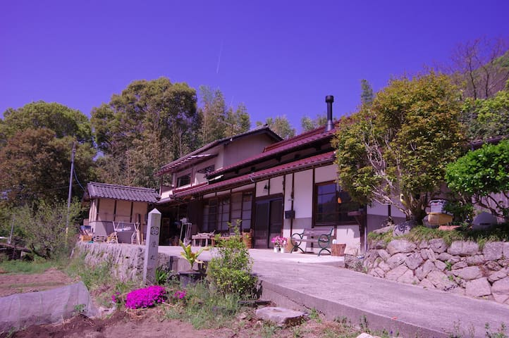 しまなみ海道「大三島」LIGHT HOUSE(和室/共同キッチン)大山祇神社、スーパー、コンビニ近く