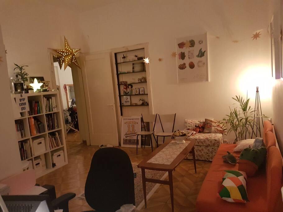 living room night 2