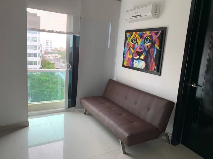 Apartamento privado con vista al Rio Magdalena