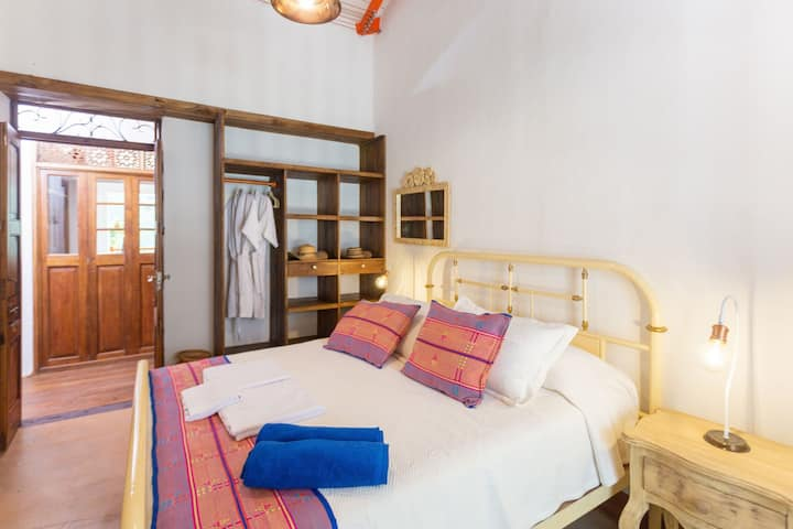 A superior double room at Finca la Manchuria