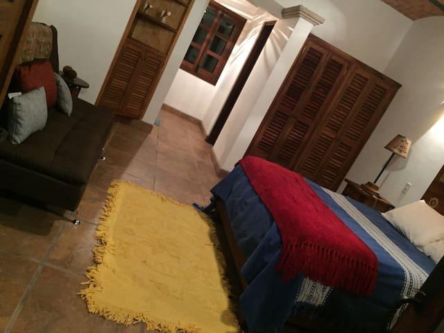 Casita's bedroom