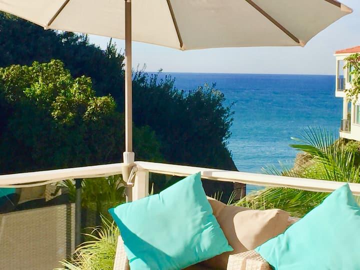 Your ACTUAL Ocean View1-walk to town-BEACHES OPEN