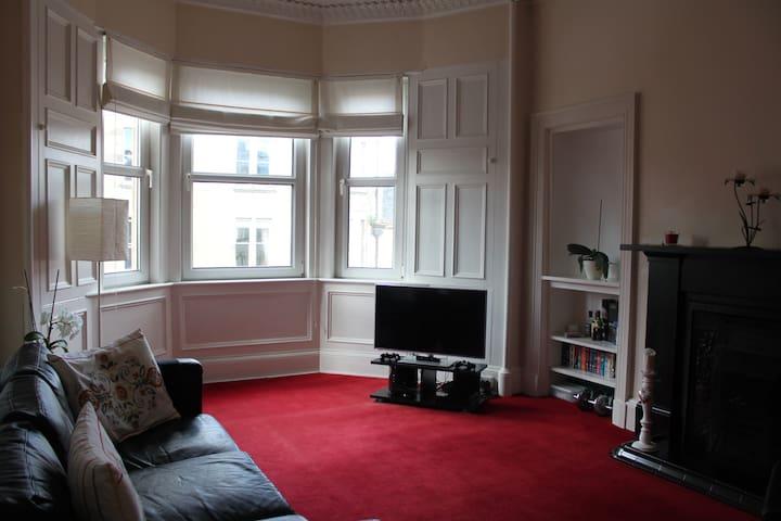Elegant, spacious and quiet 2 bed flat near centre - Edinburgh - Lakás