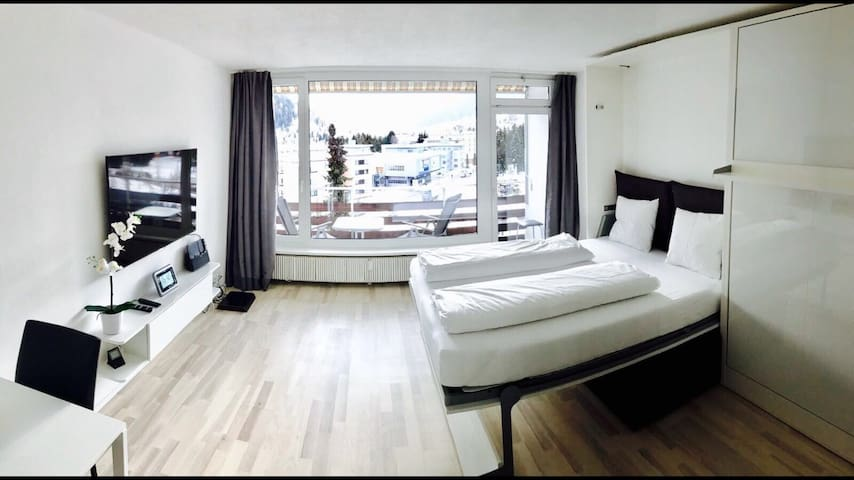 Renovated apartment with top view! - Davos Platz - Apartment