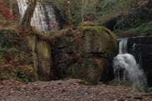 Waterfalll in Lumsdale