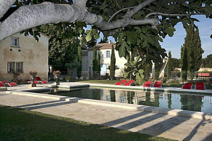 Gite,Mas de César XVIII,2 à 8p - Bouchet - Appartement