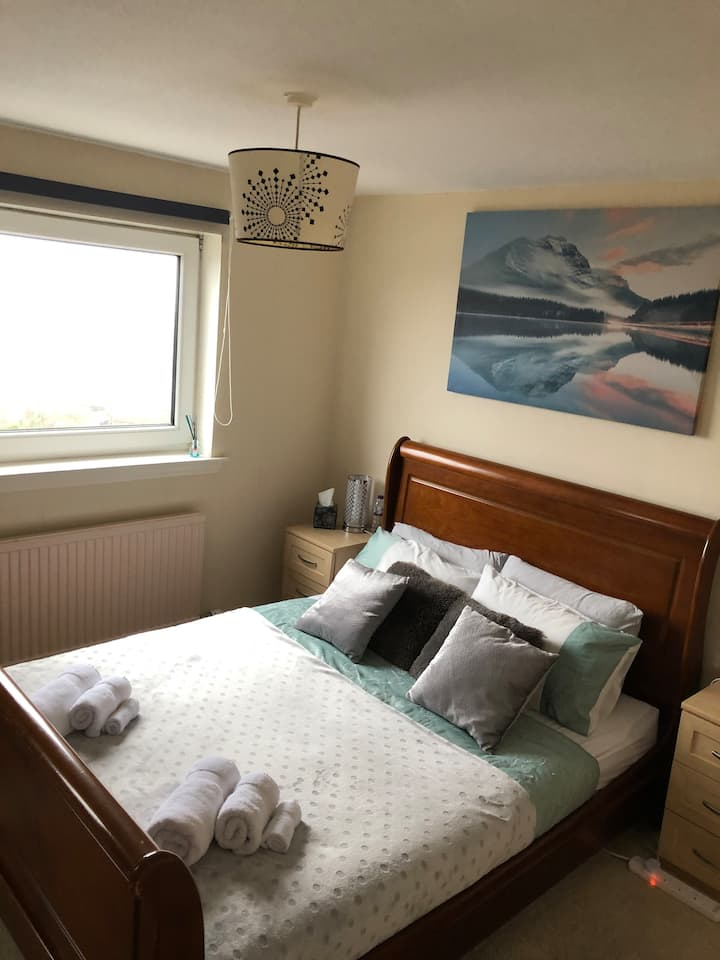 2 bedroom flat with balcony and nice view Dundee