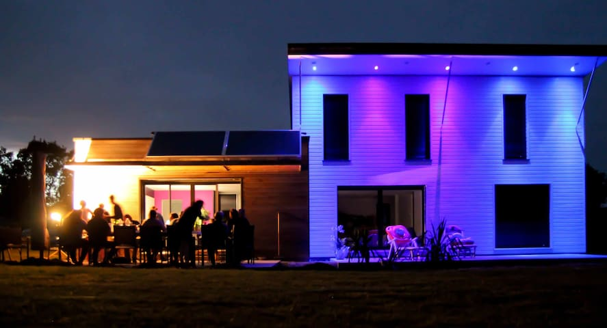 Maison moderne Bretagne Finistère sud - Le Trévoux - Casa