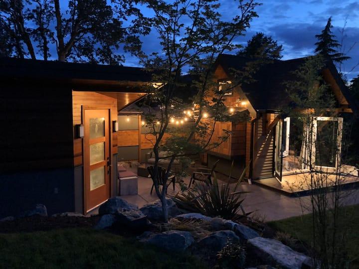 Tidal wood villa