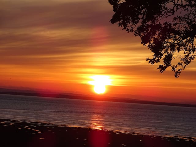 Incredible sea views & sunsets - lovely cottage!