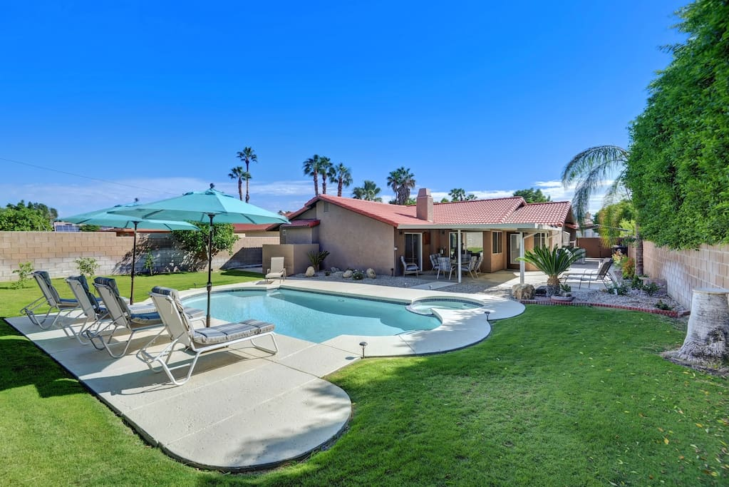 Expansive Backyard with Pool and Beautiful Views