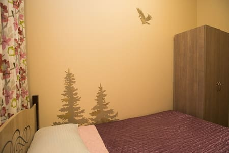 Double room. Center of Moscow. Visa support - Mosca
