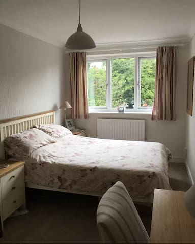 Private double room on England's Golf Coast.