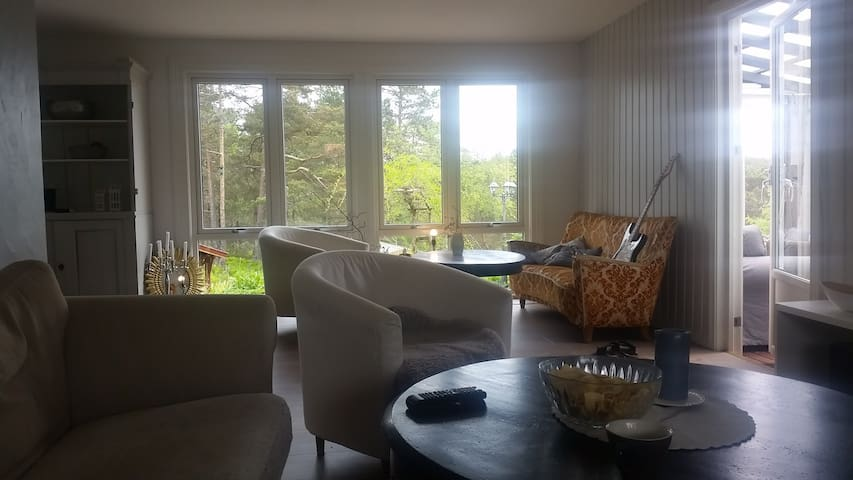 Nice hous, great location, ski outdoor activity - Vennesla - Casa
