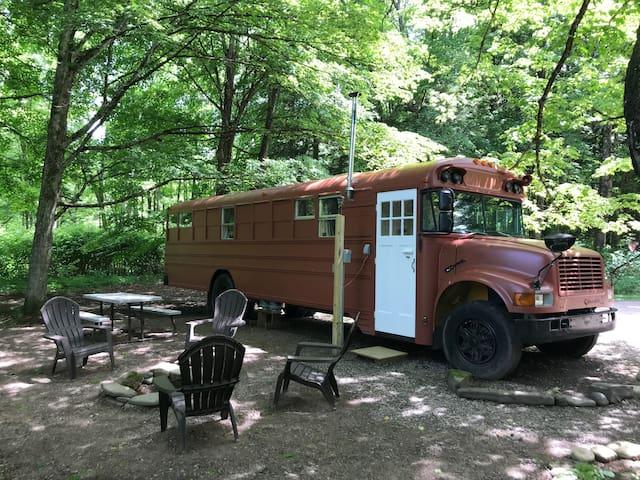 The Happy Camper Bus