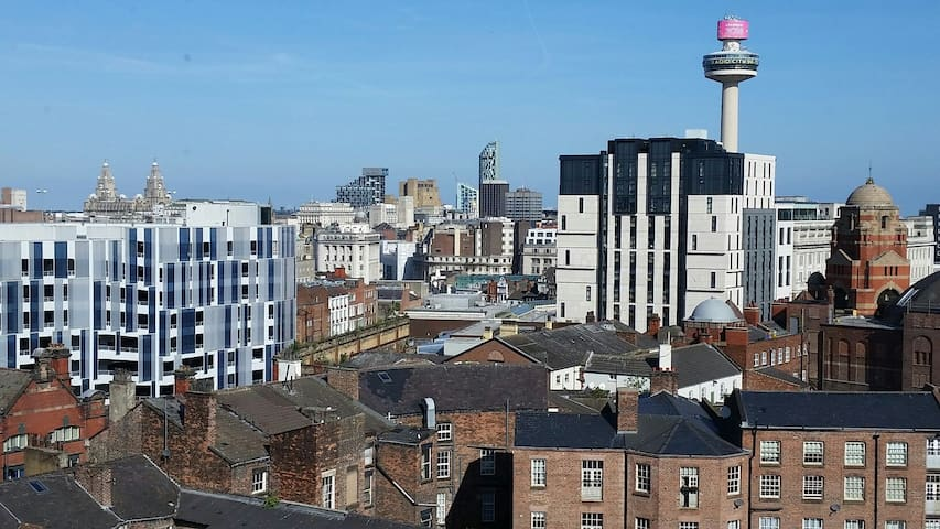 Perfect Penthouse views in Liverpool