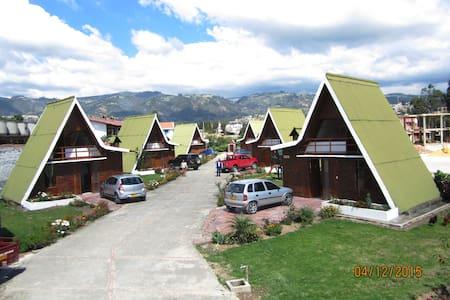 CabañasGuacatá Hotel,un lugar reservado para usted - Paipa - Бунгало