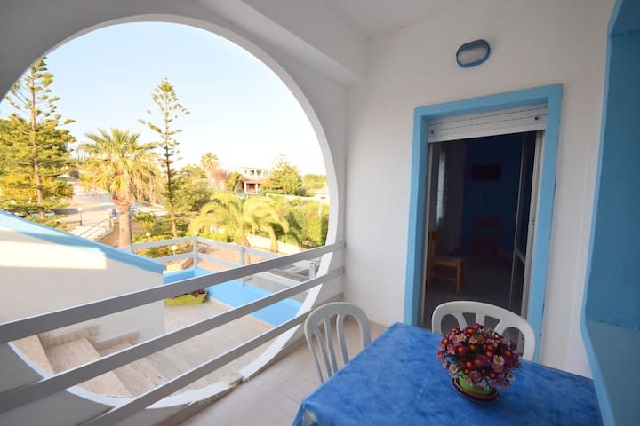 Tasteful apartment in front of the beach of Menfi