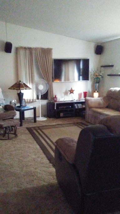 shared living room w/2 couches