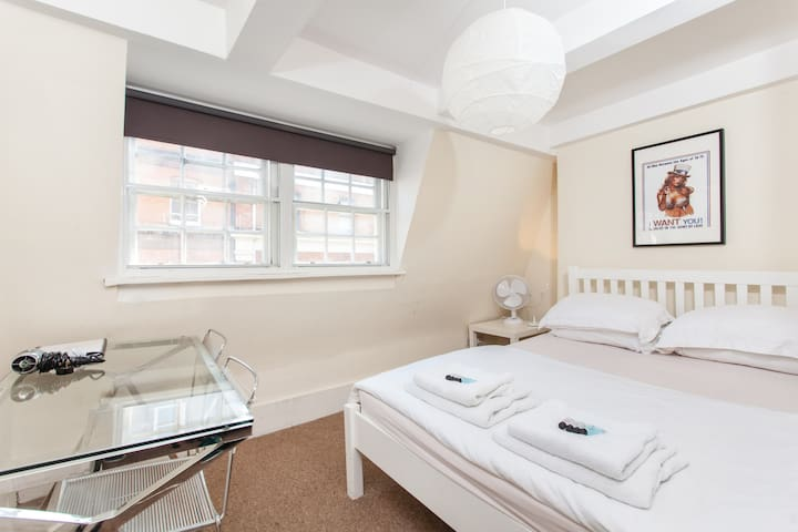 3) Soho and Piccadilly Circus - Nice Private Room - London - Apartment