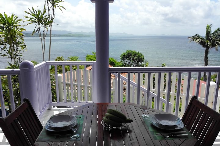 Villa JB - Appartement avec vue sur la mer