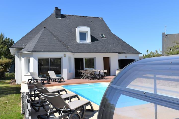 Nouveau 2020 villa piscine chauffée à 5 mn/ la mer