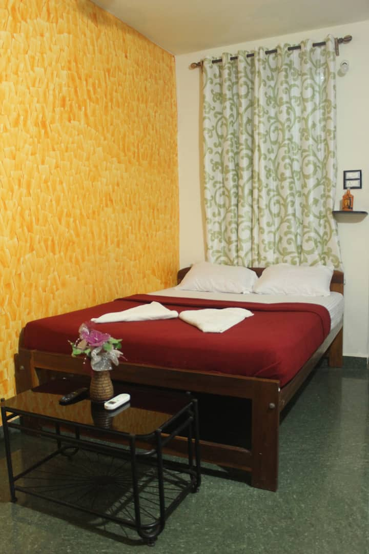 Deluxe double room with AC