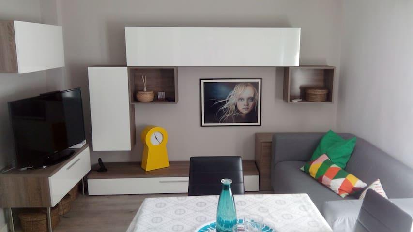 Habitación individual en piso acogedor - Zaragoza - Apartemen