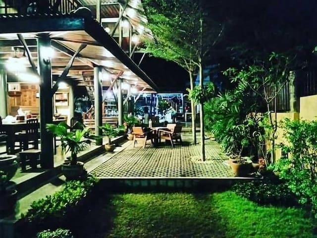 Original riverside Thai house.- Authentic feeling.